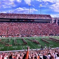Photo taken at Darrell K. Royal-Texas Memorial Stadium by Austin P. on 11/10/2012