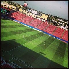 Photo taken at Toyota Stadium by Carolina W. on 7/13/2013