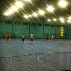 Photo taken at YPKP Indoor Soccer Center by Iwan G. on 3/16/2013