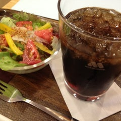 Photo taken at モスカフェ 西銀座店 by Nakagawa T. on 7/1/2013