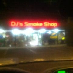 Photo taken at DJ's Smoke Shop by Nastasjia R. on 4/11/2013