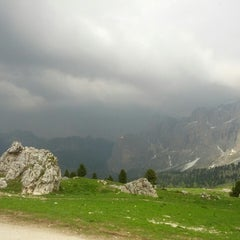 Photo taken at Rifugio Passo Sella by ALF on 6/19/2013
