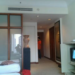 Photo taken at Hotel Bumi Surabaya by Rama W. on 11/24/2012