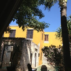 Photo taken at Hacienda Puerta Campeche by @ferval100 Fer V. on 2/25/2013