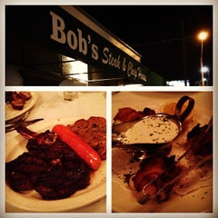 Photo taken at Bob's Steak & Chop House by Charleston DJ EarwaxXx P. on 12/11/2012