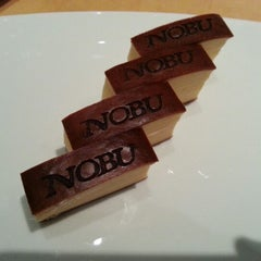 Photo taken at Nobu by Adel Z. on 12/16/2012