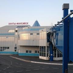 Photo taken at Международный аэропорт Ханты-Мансийск / Khanty-Mansiysk International Airport (HMA) by Alex P. on 7/23/2013