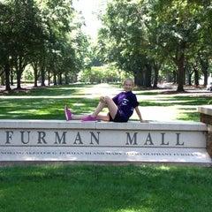 Photo taken at Furman University by Becky R. on 6/22/2013