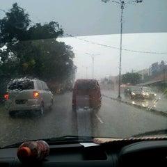 Photo taken at Jalan Raya Bogor by Heris R. on 10/17/2012