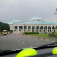 Photo taken at Pustaka Negeri Sarawak (Sarawak State Library) by Miho N. on 10/5/2012