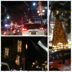 Photo taken at Orchard Road by TANG Y. on 12/21/2012