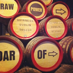 Photo taken at Guinness Storehouse by Haley P. on 6/8/2013