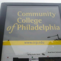 Photo taken at Community College of Philadelphia by Windell W. on 10/4/2012