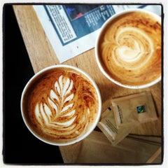 Photo taken at Brick Lane Coffee by elisa v. on 5/5/2013
