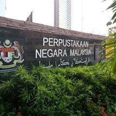 Photo taken at National Library (Perpustakaan Negara) by Nuyu R. on 4/21/2013