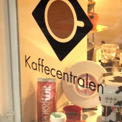 Photo taken at Kaffecentralen by Mervi V. on 10/22/2012
