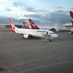 Photo taken at Brisbane Domestic Terminal by Feña S. on 4/8/2013