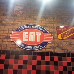 Photo taken at Jimmy John's by Alexey B. on 1/3/2015