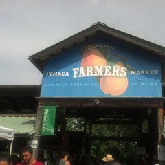 Photo taken at Ithaca Farmers Market by Jason S. on 7/20/2013