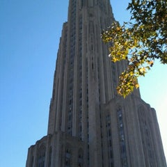 Photo taken at University of Pittsburgh by Diana P. on 11/8/2012