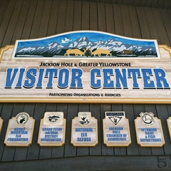 Photo taken at Jackson Visitor Center by Shannon M. on 8/2/2013