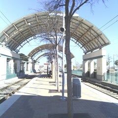Photo taken at Downtown Garland Station (DART Rail) by Train W. on 2/17/2013