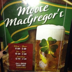 Photo taken at Moose MacGregor's by Tori M. on 1/13/2013