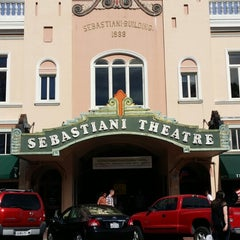 Photo taken at Sebastiani Theater by Brian M. on 6/14/2014