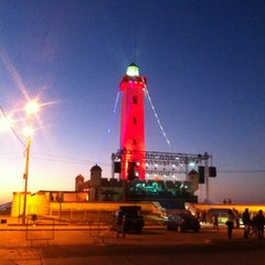 Photo taken at Faro Monumental by Juanma T. on 1/1/2013