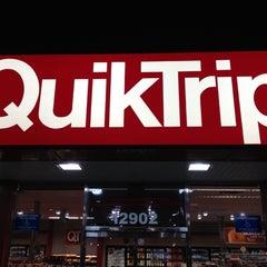 Photo taken at QuikTrip by Alex M. on 10/26/2012