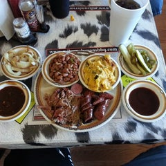 Photo taken at Mike Anderson's BBQ House by Chris K. on 10/13/2012
