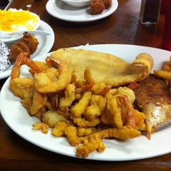 Photo taken at Gene's Seafood by Tony M. on 9/30/2012