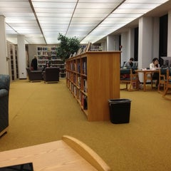 Photo taken at WPI Gordon Library by Mia S. on 12/7/2012
