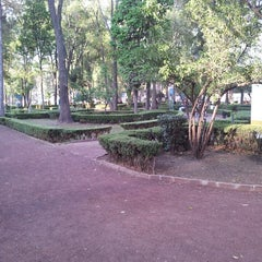 Photo taken at Parque Arboledas by Miss C. on 3/25/2013