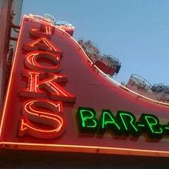 Photo taken at Jack's Bar-B-Que by Lori D. on 10/4/2012