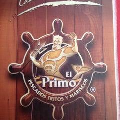 Photo taken at El Primo Pescados Fritos Y Mariscos by Pablo J. on 10/7/2012