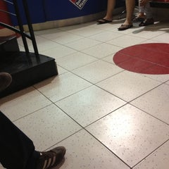 Photo taken at Domino's Pizza دومينوز بيتزا by Seif Allah A. on 10/10/2012