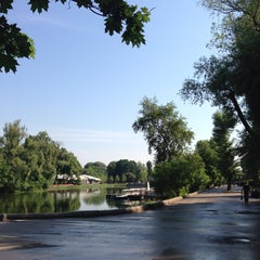 Photo taken at Лебединое озеро by Arina B. on 6/4/2013