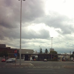 Photo taken at Rüsselsheim by Tom S. on 8/26/2014