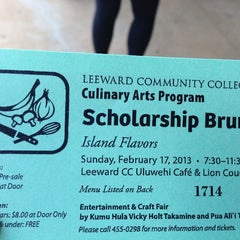 Photo taken at Leeward Community College - Cafeteria by Spursfanhawaii on 2/17/2013