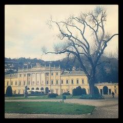 Photo taken at Villa Olmo by Vasiliy G. on 4/7/2013