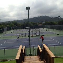 Photo taken at Courtyard Tennis Center by Stefanie C. on 7/27/2013