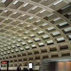 Photo taken at Pentagon City Metro Station by Kait F. on 2/24/2013