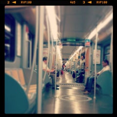 Photo taken at Metro Porta Romana (M3) by Guido D. on 7/5/2013