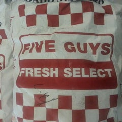 Photo taken at Five Guys by Nathan Z. on 12/7/2012