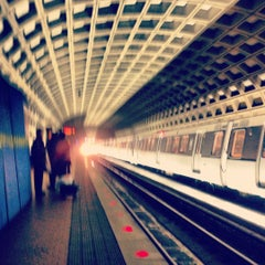 Photo taken at Pentagon City Metro Station by Rachelle F. on 11/28/2012