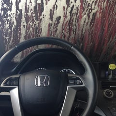 Photo taken at 3 Minute $3  Car Wash by Angela J. on 2/16/2013
