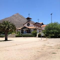 Photo taken at Santuario Santa Teresita de los Andes by Claudio A. on 12/30/2012