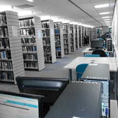 Photo taken at Northumbria University Library by Emma W. on 10/2/2012