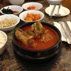 Photo taken at Kim Baek Korean Restaurant by Denis A. on 2/1/2013